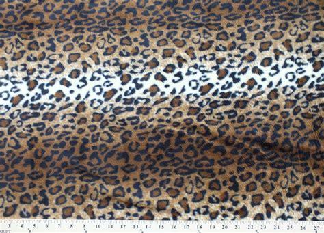 animal print outdoor fabric leopard skin animal fleece fabric print by the yard a19305b