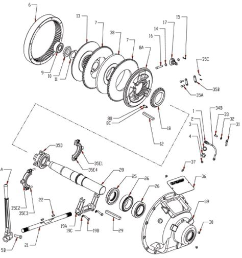 what is an exploded diagram wpt mechanical pto clutch exploded diagram