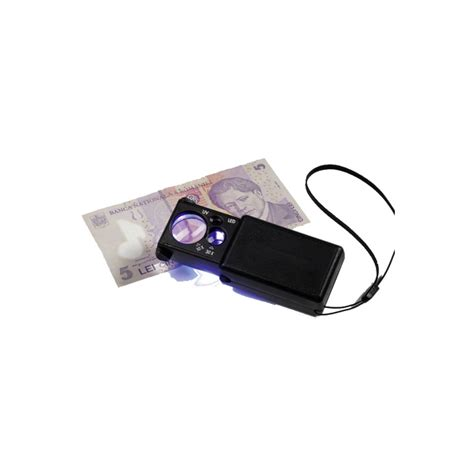 Lu Led Uv pull out magnifier with led uv l