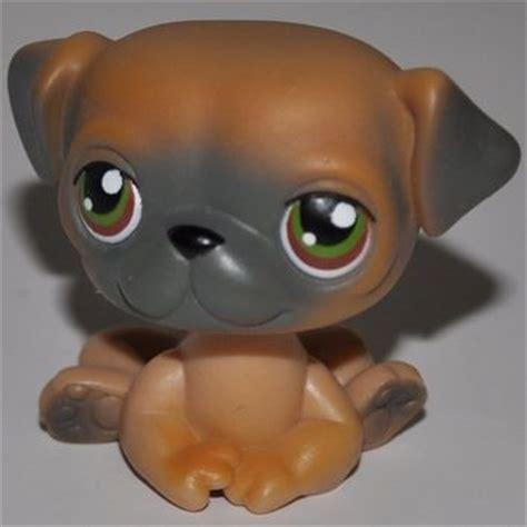 pug pet shop pug 2 grey littlest pet from