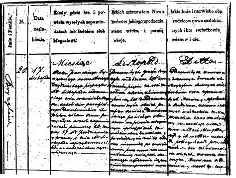 Austrian Birth Records Halgal Genealogy Of Halychyna Eastern Galicia