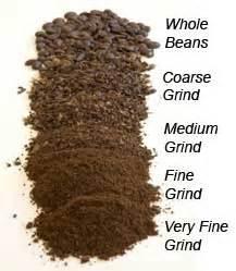 Coarse Grind Coffee Grinder Range Of Grinds