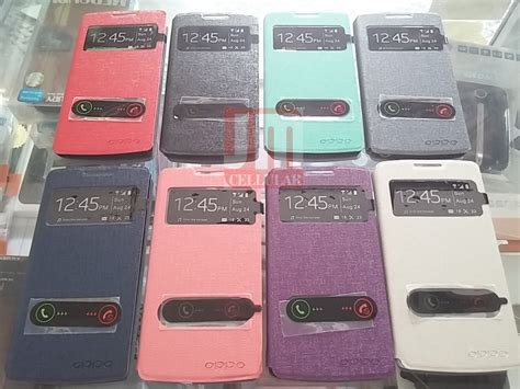 Casing Hp Oppo R831 jual leather view oppo neo r831 jm cell surabaya