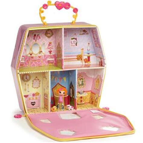 lala loopsy doll house giochi preziosi mini lalaloopsy malette maison et poup 233 e