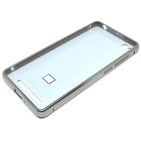 Bumper Mirror Mirrorcase Xiaomi aluminium bumper with mirror back cover for xiaomi redmi 3 black jakartanotebook