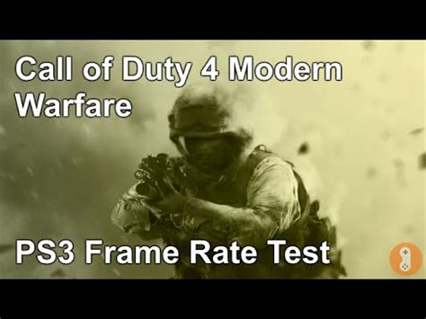 Ps3 Call Of Duty 4 Modern Warfare call of duty 4 modern warfare multiplayer ps3 frame rate test