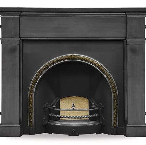 the kensington brass trim highlight fireplace insert