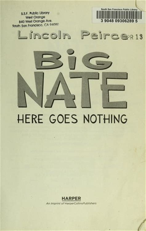 Big Nate Open Library