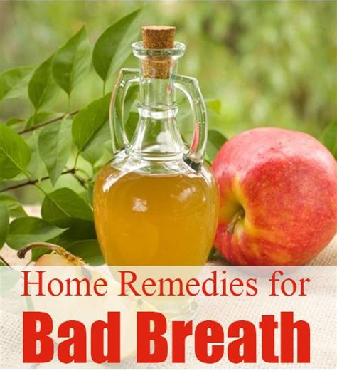 25 home remedies for bad breath apple cider