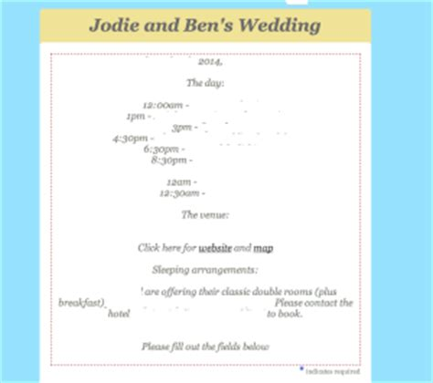 How To Create Wedding Invitations Using Mailchimp Jc Social Media Social Media Agency Mailchimp Announcement Template