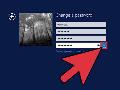 windows reset your password how to change your password in windows 8 10 steps with