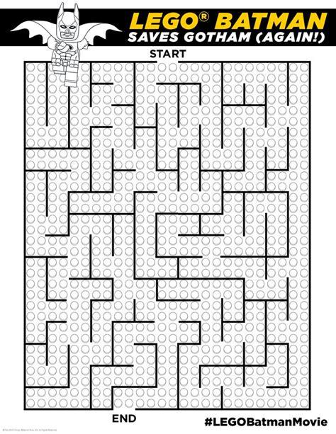 printable batman maze 489 best images about printable on pinterest