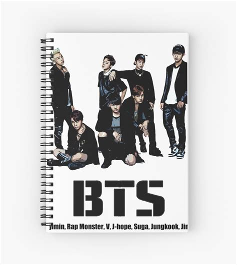 Kids Christmas Duvet Cover Quot Bts Bangtan Boys Quot Spiral Notebooks By Kpoplace Redbubble