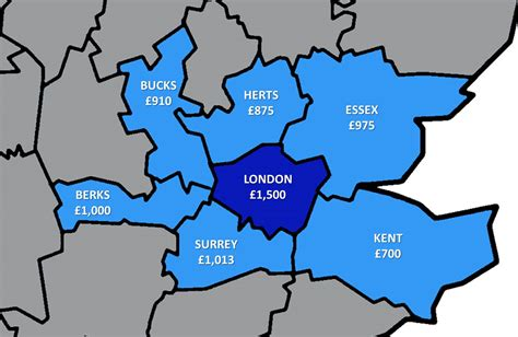 How Much Does A Studio Apartment Cost by How Much Does It Cost To Rent Outside London Londonist