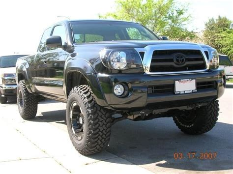 toyota tacoma blacked out blacked out toy 2005 toyota tacoma xtra cab specs photos