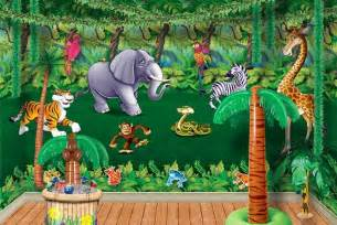 dekoration dschungel vacation bible school vbs jungle theme decorations