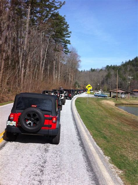 Ga Jeep Trails Convoy To The Trails N Mountains Helen Jeep