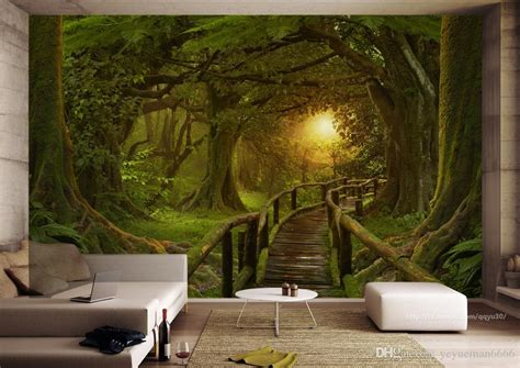 Komar Photo Wall 4522 Forest Photo Murals Wallpaper Wallart forest wall mural wallpaper home design