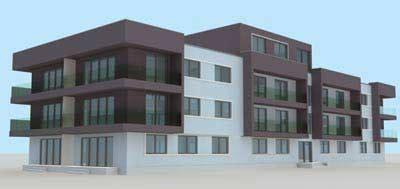 3d Rendering 3d Building 3d House Building Free