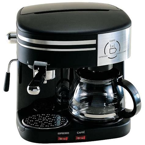 china 3 in 1 espresso cappuccino and drip coffee maker