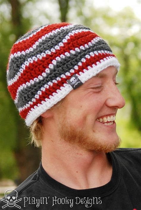 pattern crochet hat for man 15 incredibly handsome winter hats for men to knit or crochet