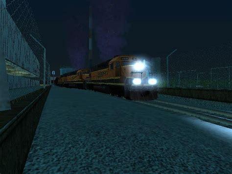 gta san andreas bnsf freight train  reverse cab