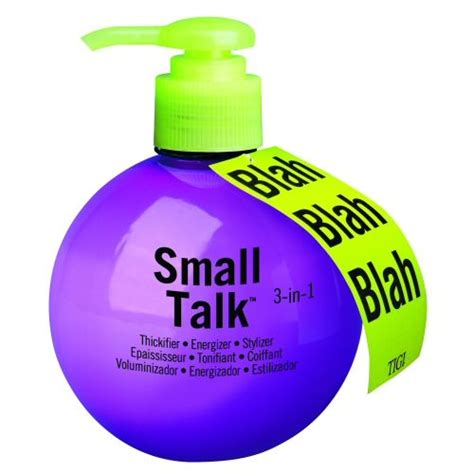 Tigi Bedhead Small Talk Thickener by Tigi Bedhead Small Talk Reviews Photos Ingredients