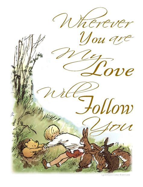 Classic Pooh L by Classic Winnie The Pooh Nursery Wall Print