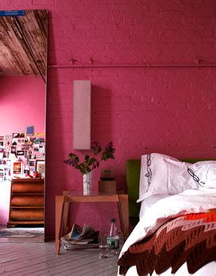 pink bedroom walls cococozy color fuchsia and pink