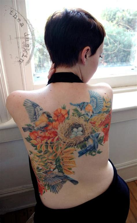 tattoo gallery richmond bluebirds and nest by thea duskin tattoos