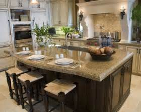 Countertop For Kitchen Island 77 Custom Kitchen Island Ideas Beautiful Designs