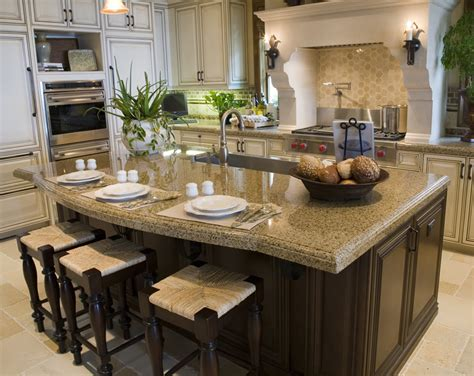 granite kitchen island with seating 77 custom kitchen island ideas beautiful designs