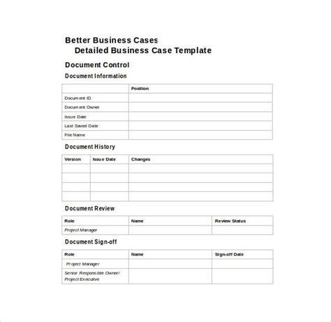 Business Case Template Cortezcolorado Net Word Document Templates Free