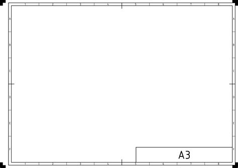 mechanical drawing template 27 images of iso standard drawing template infovia net