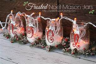 Easy Ways To Decorate Your Home 15 easy mason jar christmas decorations you can make