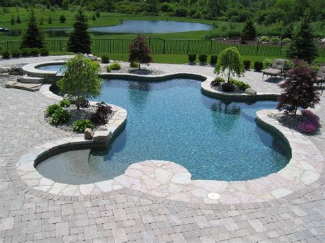 Inground Swimming Pool Designs Aquascapes Home