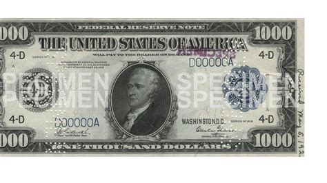 Pictures of Big Bills - $1000, $5000, $10000, $100000 ... $10000 Bill For Sale