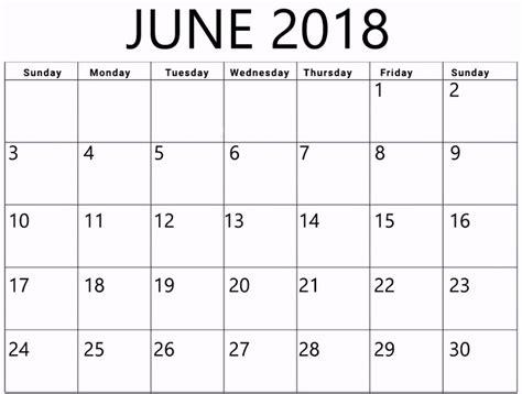 printable calendar 2018 fillable june 2018 calendar fillable printable