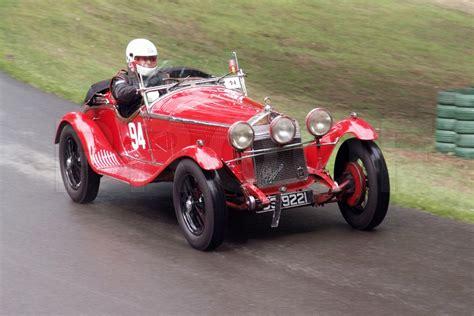 vintage alfa romeo 6c bonzer photos vintage cars vscc prescott hill climb