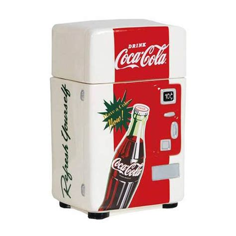 coca cola refresh yourself vending machine canister