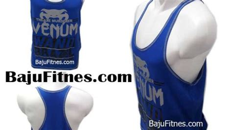 Pakaian Olahraga Pria Venum The Exe Murdered Blue Gross 089506541896 tri harga pria baju olahraga