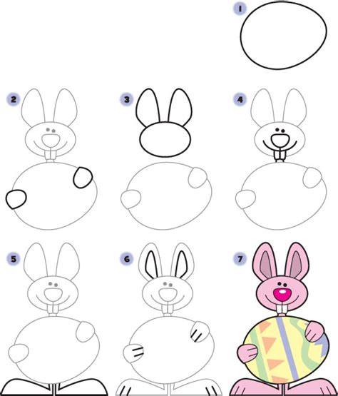 how to draw a doodle bunny how to draw an easter bunny easter activities