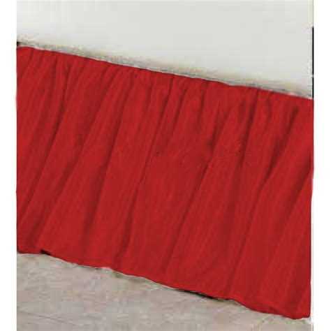red bed skirt red bed skirt 28 images faux silk red ruffle bedskirt