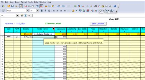 profit and loss template fill online printable fillable blank