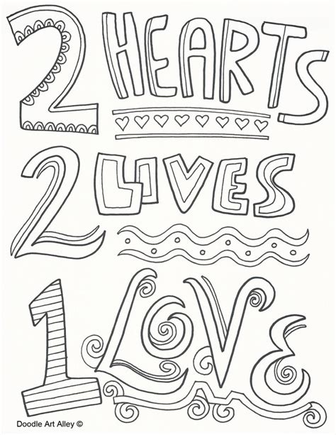 love themed coloring page new wedding coloring pages artsybarksy