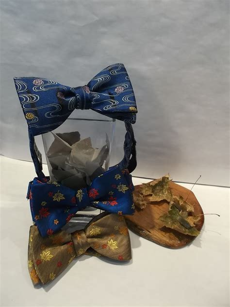 Custom Motif Go No 7 seigo neckwear new york new arrival motif bow ties