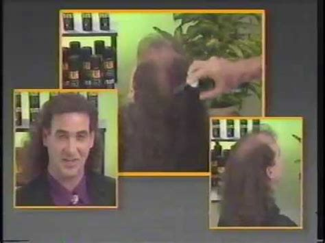 ron popiel glh 9 hair in a can spray ronco glh hair in a can youtube