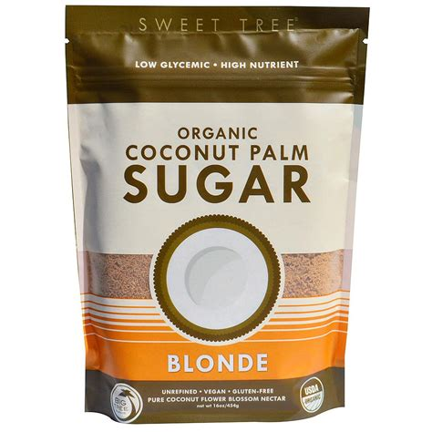 coco sugar big tree farms coconut palm sugar blonde 500g raw