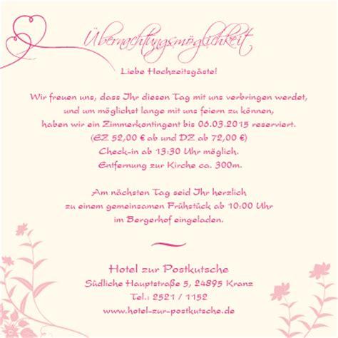 Hochzeitseinladung Muster by Altarfalz Einlagekarten Florale Elemente In Pink