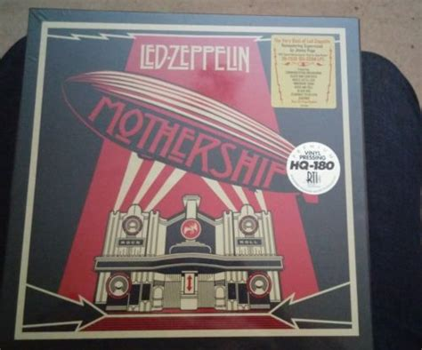 Led Zeppelin Mothership popsike led zeppelin mothership 4x vinyl lp box set